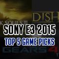 Top 5 Games in E3 2015