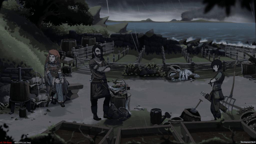 Dead in Vinland Storm No Ui