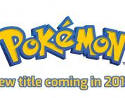Pokemon New Title Announcement