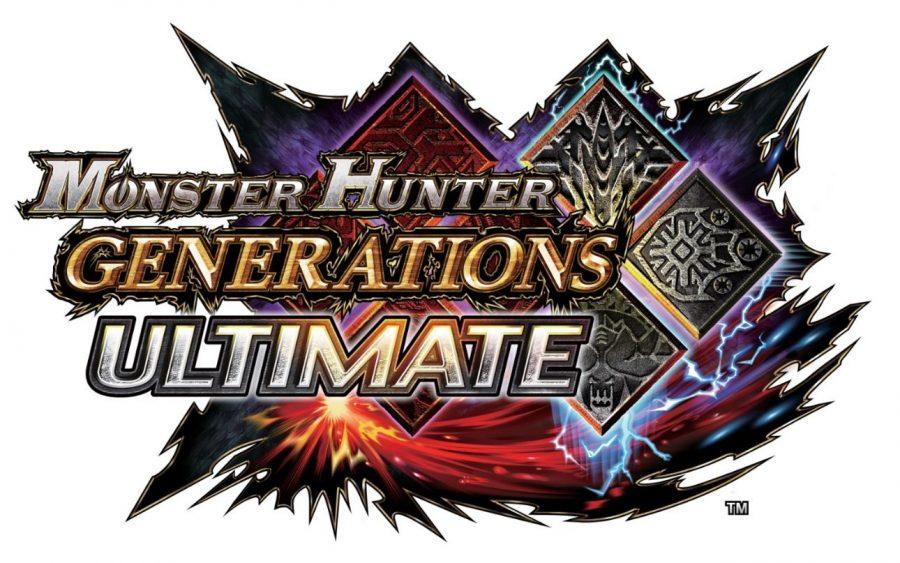 Monster Hunter Generations Ultimate Logo