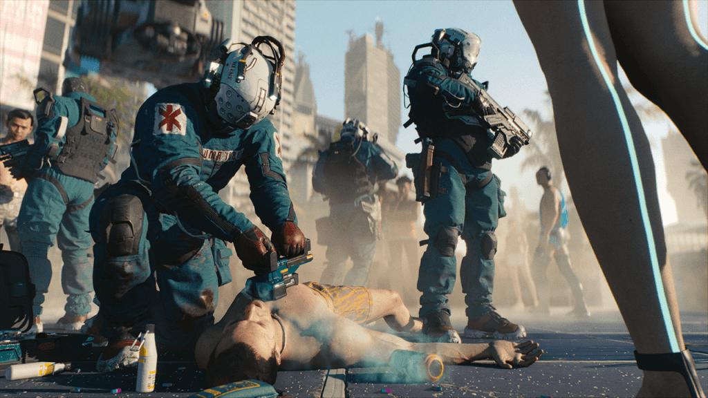 E3 2018 Microsoft Xbox Conference Cyberpunk 2077