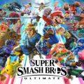 Smash Bros Ultimate Keyart