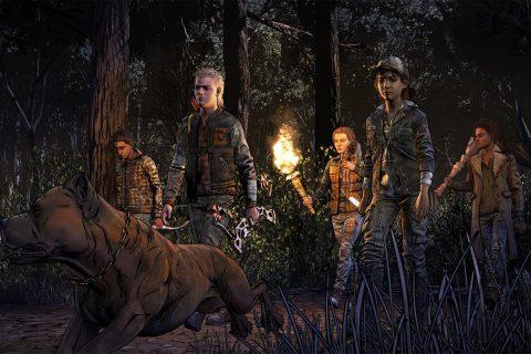 The Walking Dead The Final Season Gang