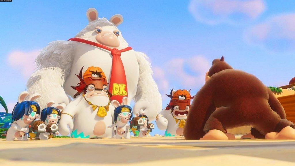 Ubisoft E3 2018 Conference Mario + Rabbids Kingdom Battle Donkey Kong Adventure