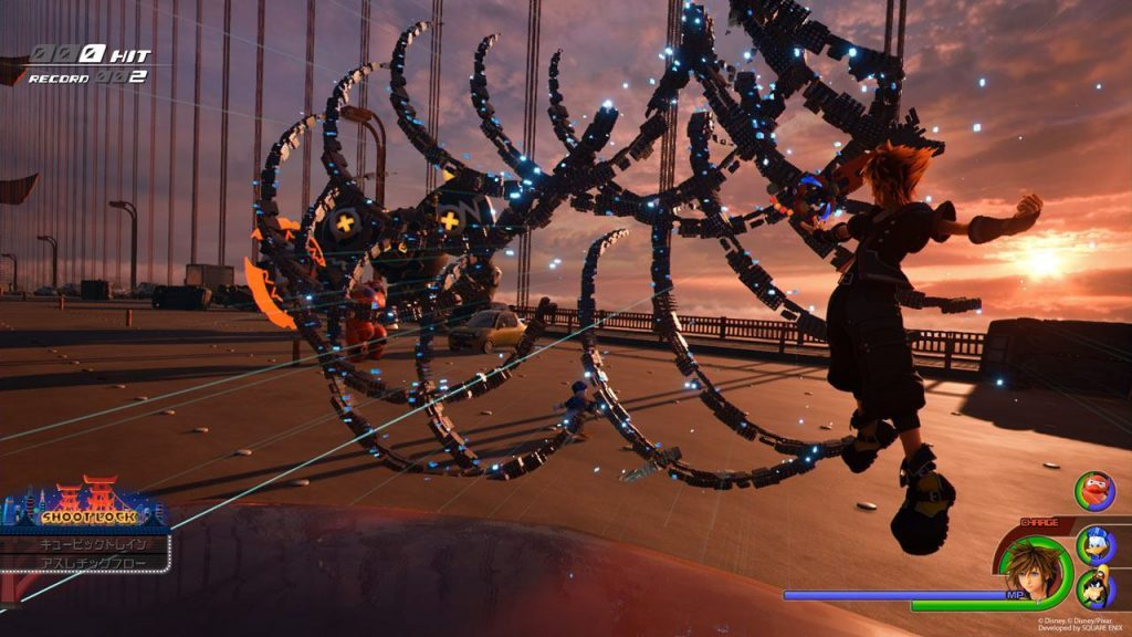 Kingdom Hearts III Big Hero 6 Screenshot 01