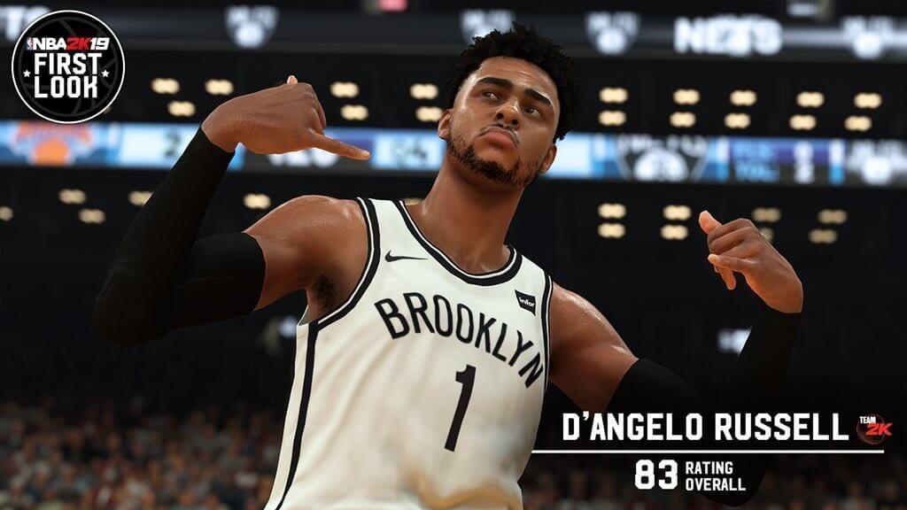 NBA 2K19 DAngelo Russell