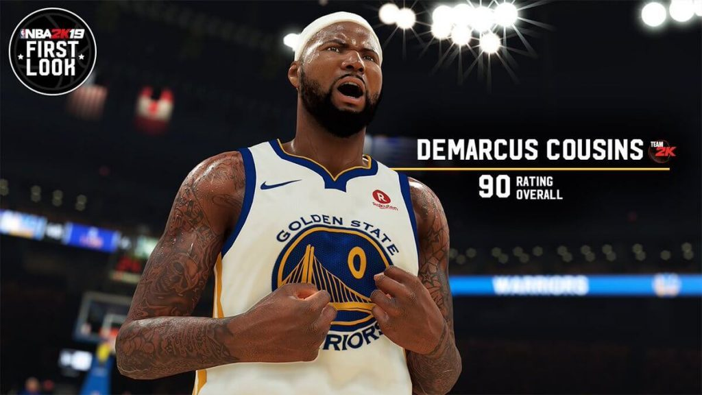 NBA 2K19 Demarcus Cousins