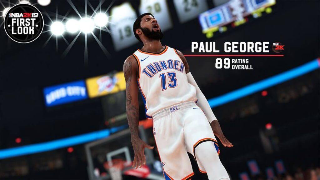 NBA 2K19 Paul George