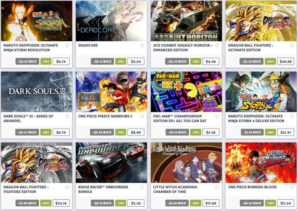 Bandai Namco Sale Humble Bundle 04