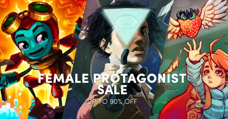 Female Protagonists Sale Humble Bundle 05