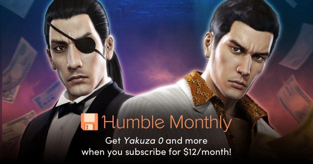 Humble Bundle Monthly February 2019 Early Unlock Yakuza 0