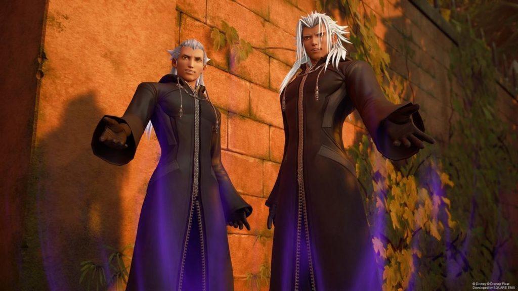Ansem and Xemnas