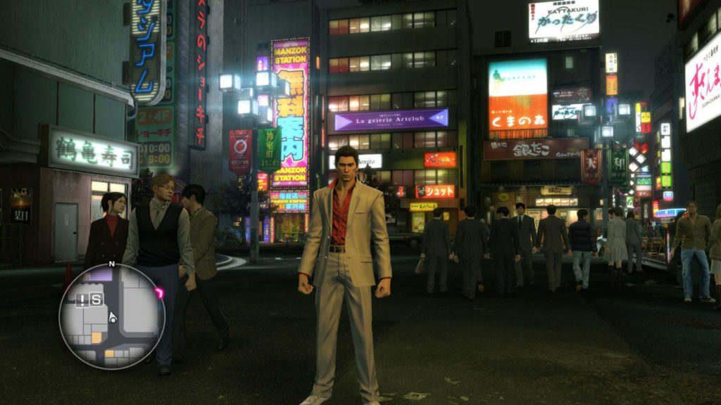 YAKUZA KIWAMI Screenshot 01