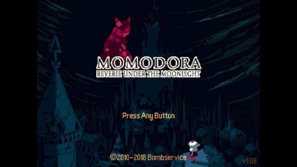 Momodora: RUtM Title Screen