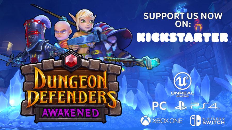 Dungeon Defenders Awakened Kickstarter