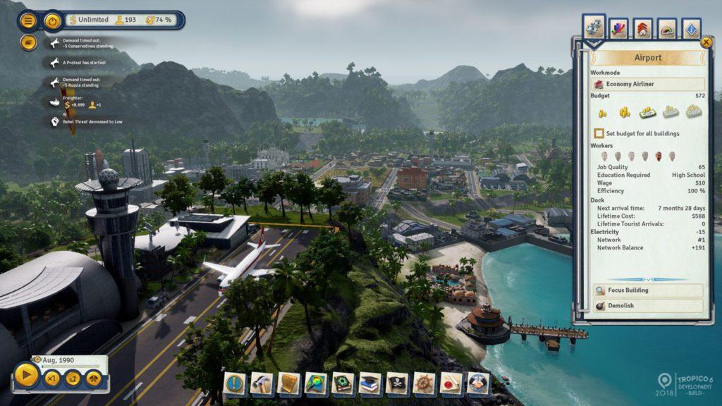 Tropico 6 Open Beta Screenshot 07
