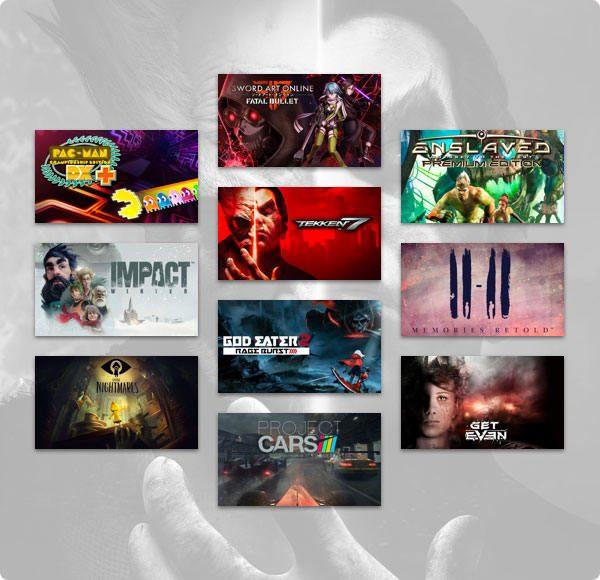 Humble BANDAI NAMCO Bundle 3 Games