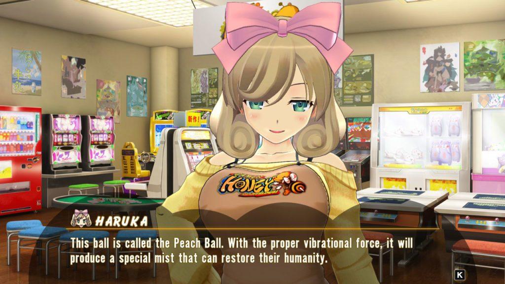 SENRAN KAGURA Peach Ball Screenshot 02