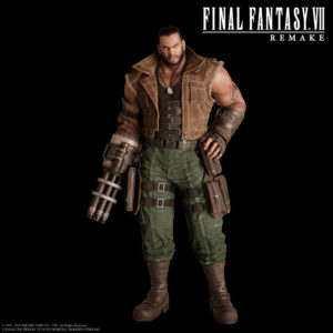 Final Fantasy VII Remake Character Render Barret