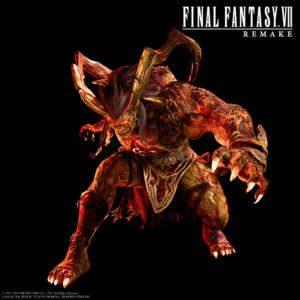 Final Fantasy VII Remake Character Render Ifrit