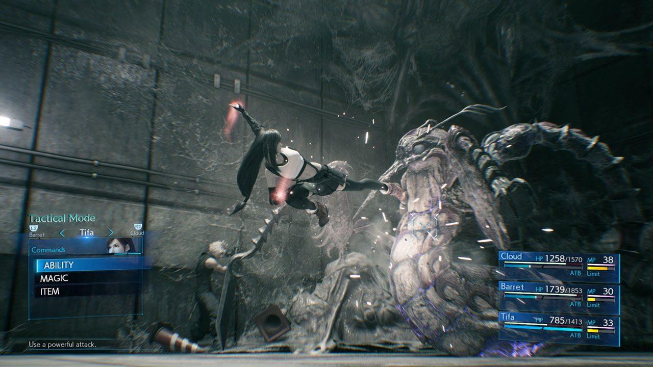 Final Fantasy VII Remake Screenshot 02