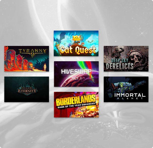 Humble RPG Bundle Games