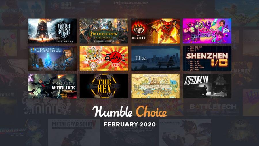 February 2020 Humble Choice Featured
