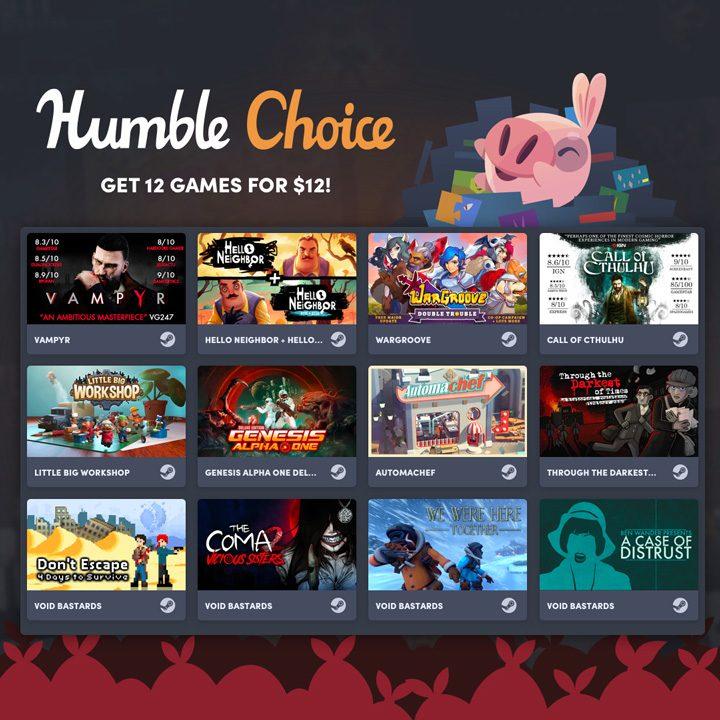 Humble Choice August 2020 All Games