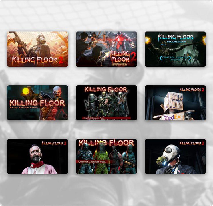 Humble Kiiling Floor Bundle All Games