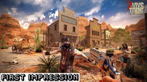 7 Days to Die First Impression Website